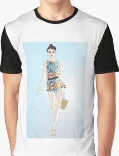 Romped Up for Summer Graphic T-Shirt