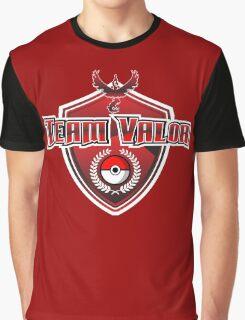 Pokemon Go! Team Valor Graphic T-Shirt