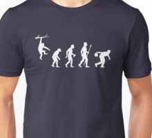 Bowling Evolution Funny Unisex T-Shirt