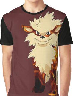 Arcanine-Pokemon Graphic T-Shirt