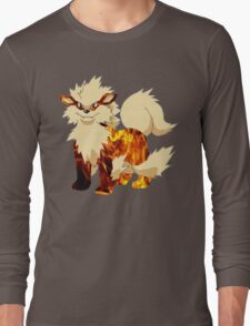 Arcanine-Pokemon Long Sleeve T-Shirt