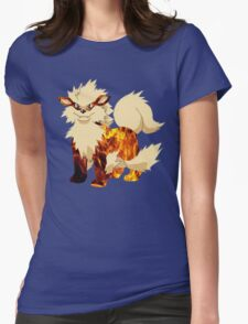 Arcanine-Pokemon Womens Fitted T-Shirt