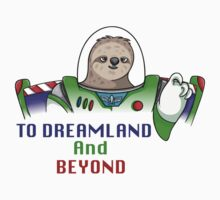 To Dreamland And Beyond Kids Tee