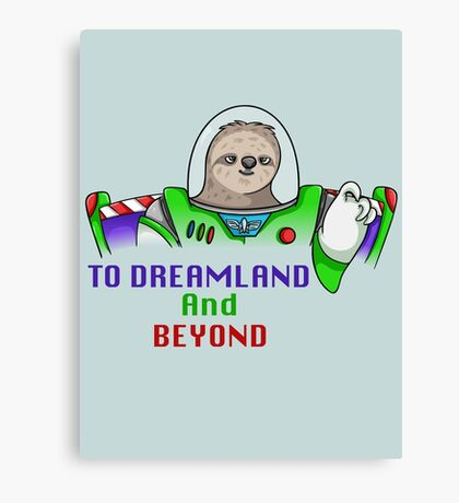 To Dreamland And Beyond Canvas Print
