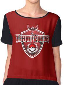 Pokemon Go! Team Valor Chiffon Top