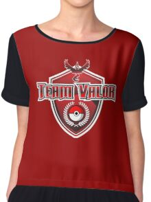 Pokemon Go! Team Valor Chiffon Top