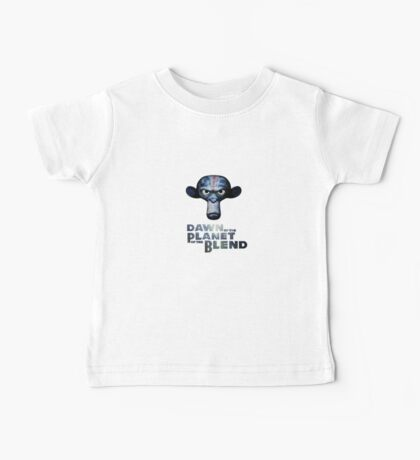Dawn of the Planet of the Blend Baby Tee