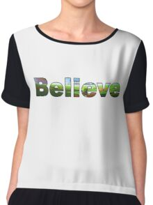 Believe - Legend of Zelda Chiffon Top