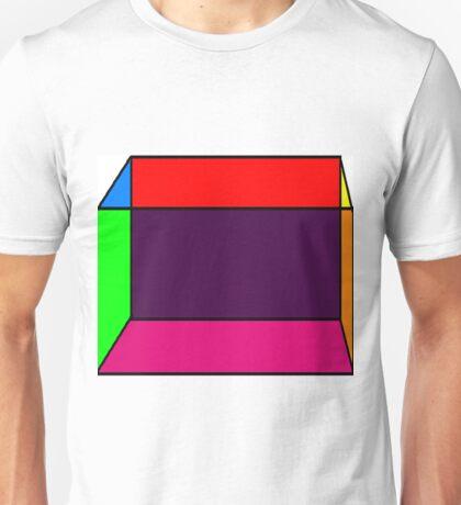 neon cube Unisex T-Shirt