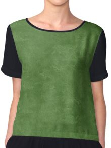 Treetop Oil Pastel Color Accent Chiffon Top
