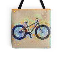 Groovy Cycling Dreams Tote Bag