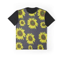 Sunflower pattern Graphic T-Shirt