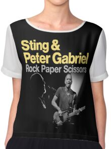 ROCK PAPER SCISSORS TOUR Chiffon Top
