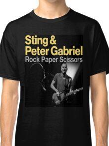 ROCK PAPER SCISSORS TOUR Classic T-Shirt