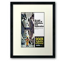 2001: A Space Odyessy Framed Print