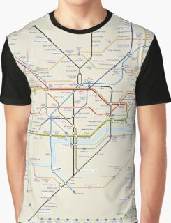 London subway 2016 Graphic T-Shirt