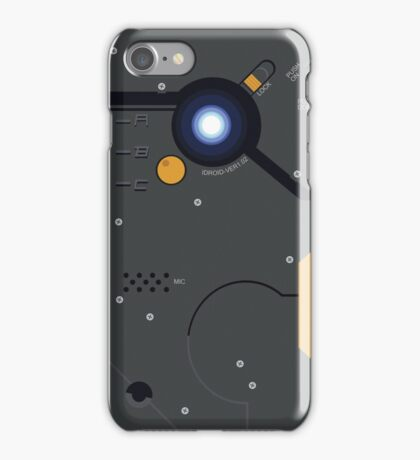 Metal Gear Solid iDroid Game Version iPhone Case/Skin