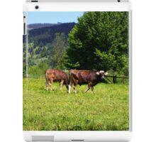 Cows of Oberammergau iPad Case/Skin