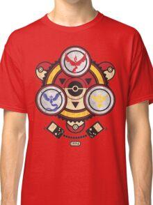 Bad ASH Pokemon Go Valor - Mystic - Instinct Team Shirt  Classic T-Shirt