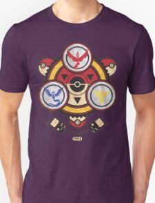 Bad ASH Pokemon Go Valor - Mystic - Instinct Team Shirt  Unisex T-Shirt