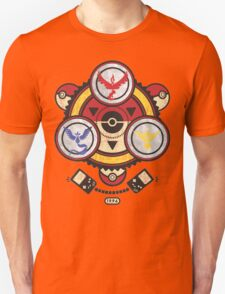 Bad ASH Pokemon Go Valor - Mystic - Instinct Team Shirt  Unisex T-Shirt