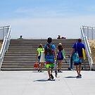 Going to the Beach by Jacker