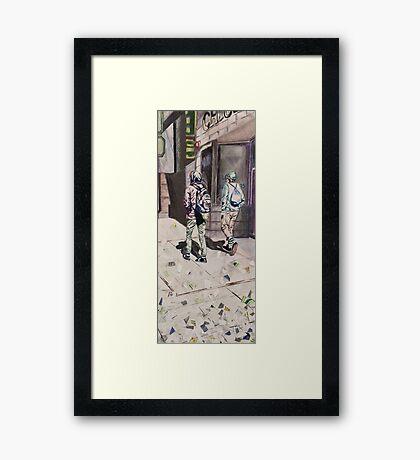 Funky Boys  Framed Print