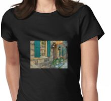 A Victorian Tea Room Womens Fitted T-Shirt