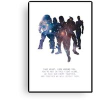 Mass Effect Squad Canvas Print