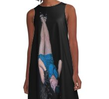 Pinup Pins  A-Line Dress
