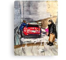State alley  Canvas Print