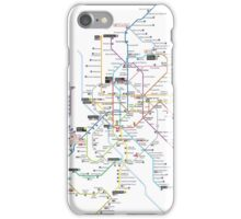 madrid subway 2016 iPhone Case/Skin
