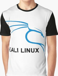 Kali Linux Stickers Graphic T-Shirt