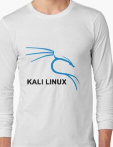 Kali Linux Stickers Long Sleeve T-Shirt