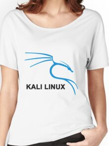 Kali Linux Stickers Women's Relaxed Fit T-Shirt