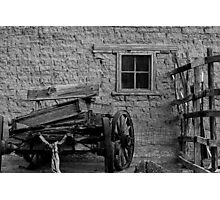 Mesilla Wagon Photographic Print