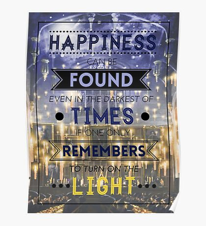 Happiness Can Be Found Poster