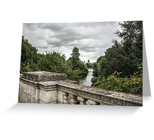 St James's Park Lake from the Mall Greeting Card