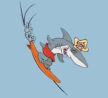 Chompy the Surfing Shark. Classic T-Shirt