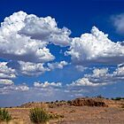 Clouds Over La Mesa by Larry Costales