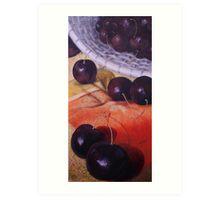 Cherries Jubilee Art Print