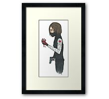 The Winter Soldiers Regret Framed Print