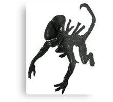 Alien Xenomorph crawl Metal Print