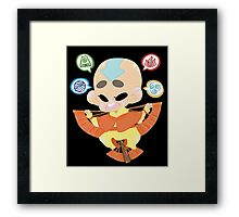 Avatar the Last Airbender || Aang Framed Print