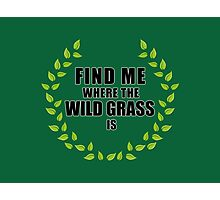 Wild Grass Photographic Print