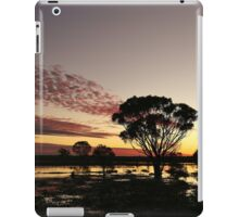 Sunset after outback rains iPad Case/Skin