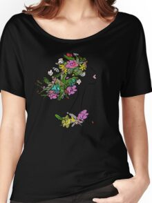 Floral spring woman Women's Relaxed Fit T-Shirt