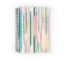Painted Stripe Spiral Notebook