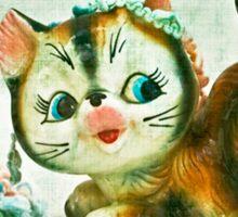 Kitty Mischief Sticker