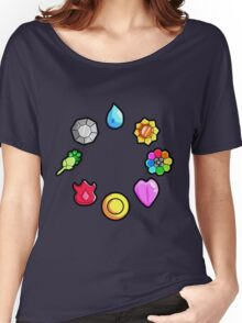 Gym Badges Women's Relaxed Fit T-Shirt